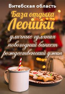 база отдыха Леошки базы отдыха Беларуси отдых в Беларуси  Новый год 2019