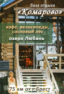 база отдыха Комарово базы отдыха Беларуси летний отдых в Беларуси 2019