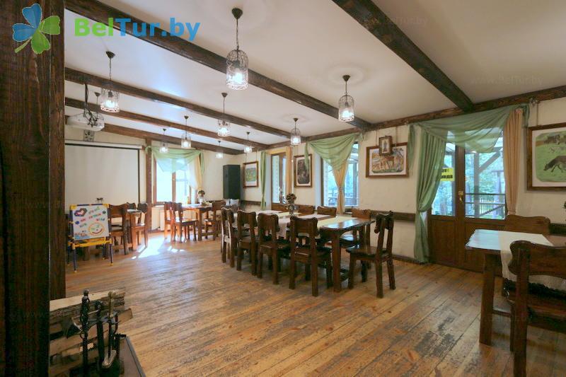 Отдых в Белоруссии Беларуси - база отдыха Бивак - Кафе