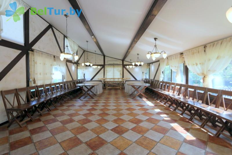 Отдых в Белоруссии Беларуси - база отдыха Бивак - Банкетный зал