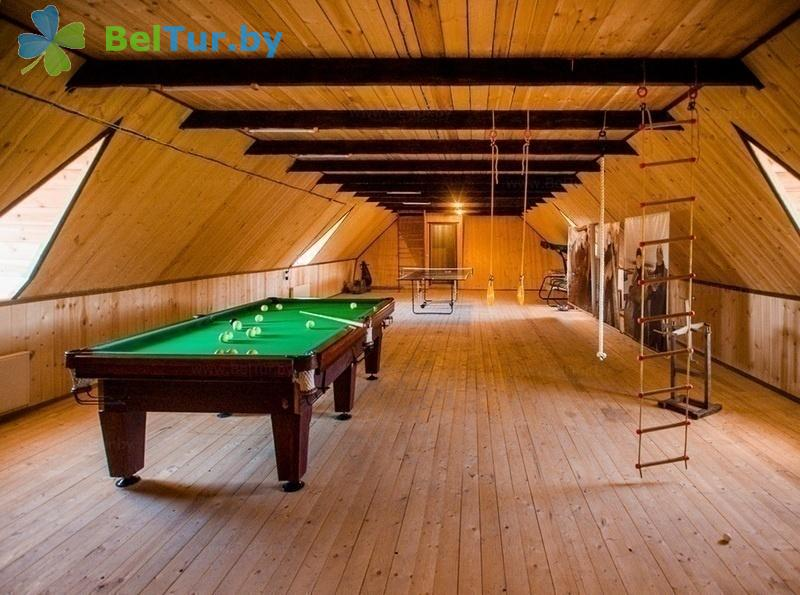Отдых в Белоруссии Беларуси - база отдыха Красногорка - Бильярд