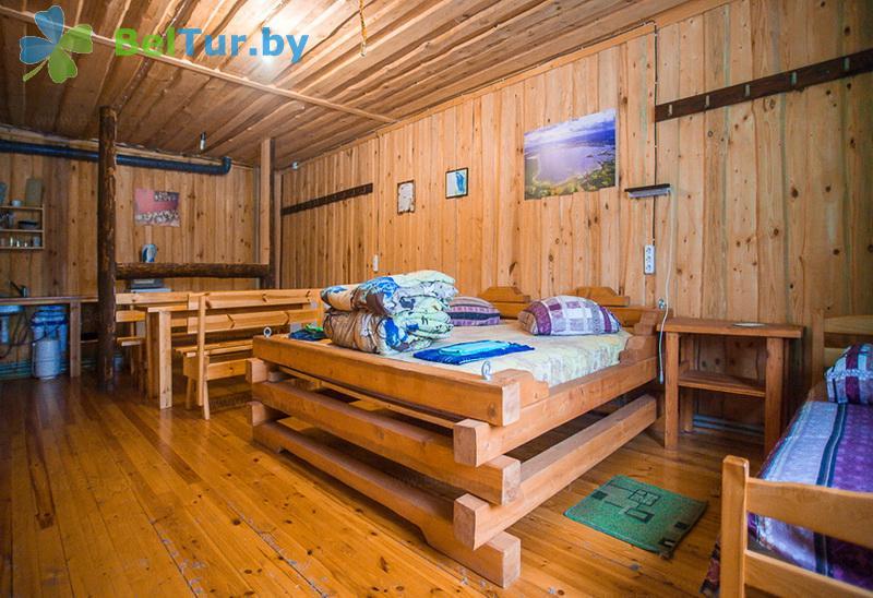 Отдых в Белоруссии Беларуси - база отдыха Красногорка - четырехместный (терем)