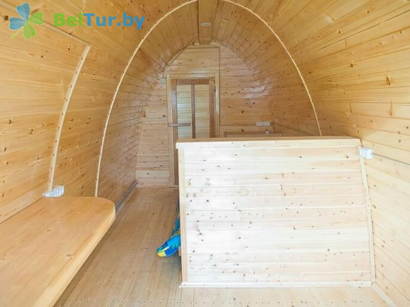 Отдых в Белоруссии Беларуси - база отдыха Красногорка - двухместный (бунгало)