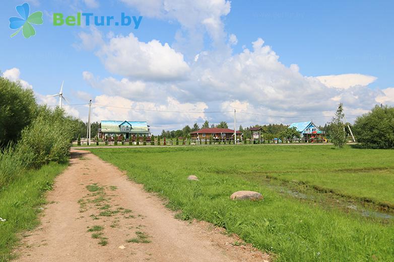 Отдых в Белоруссии Беларуси - база отдыха Красногорка - Территория и природа
