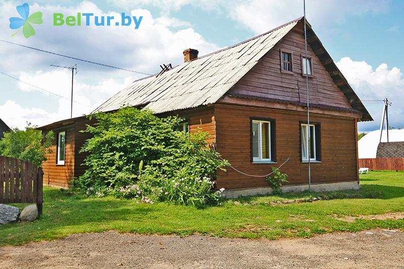 Отдых в Белоруссии Беларуси - база отдыха Красногорка - коттедж Приозерный
