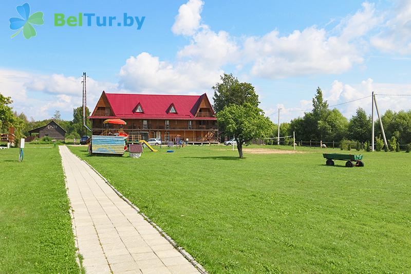 Отдых в Белоруссии Беларуси - база отдыха Красногорка - терем