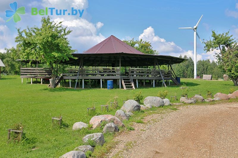 Отдых в Белоруссии Беларуси - база отдыха Красногорка - Беседка