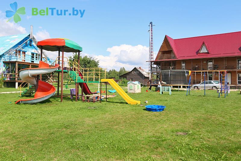 Отдых в Белоруссии Беларуси - база отдыха Красногорка - Детская площадка