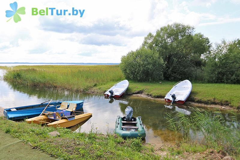 Отдых в Белоруссии Беларуси - база отдыха Красногорка - Прокат лодок