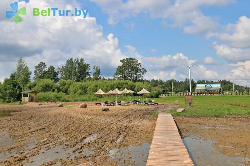 Отдых в Белоруссии Беларуси - база отдыха Красногорка - Пляж