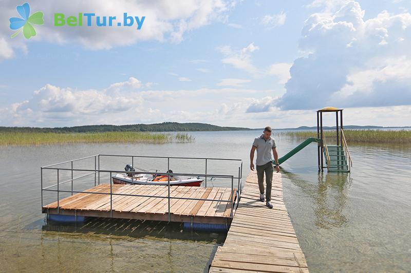 Отдых в Белоруссии Беларуси - база отдыха Красногорка - Рыбалка