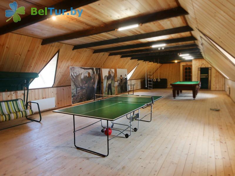 Отдых в Белоруссии Беларуси - база отдыха Красногорка - Теннис настольный