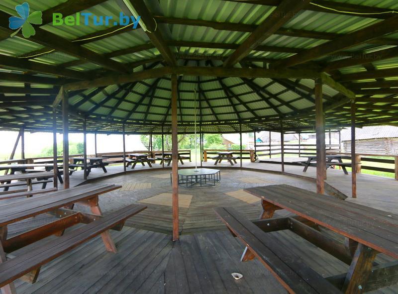 Отдых в Белоруссии Беларуси - база отдыха Красногорка - Танцплощадка летняя