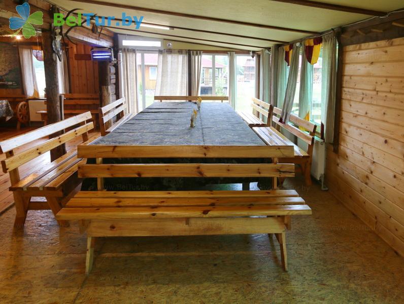 Отдых в Белоруссии Беларуси - база отдыха Красногорка - Кафе