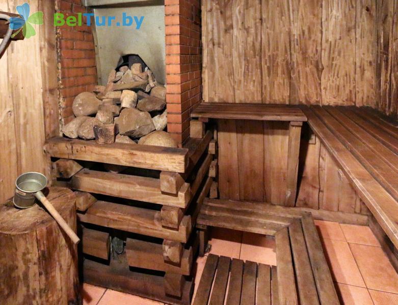 Отдых в Белоруссии Беларуси - база отдыха Красногорка - Баня русская