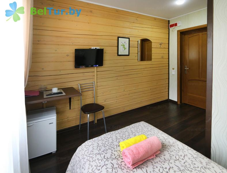Rest in Belarus - ecohotel Kvetki Yablyni - one-room single standard (house «Raspberries»)