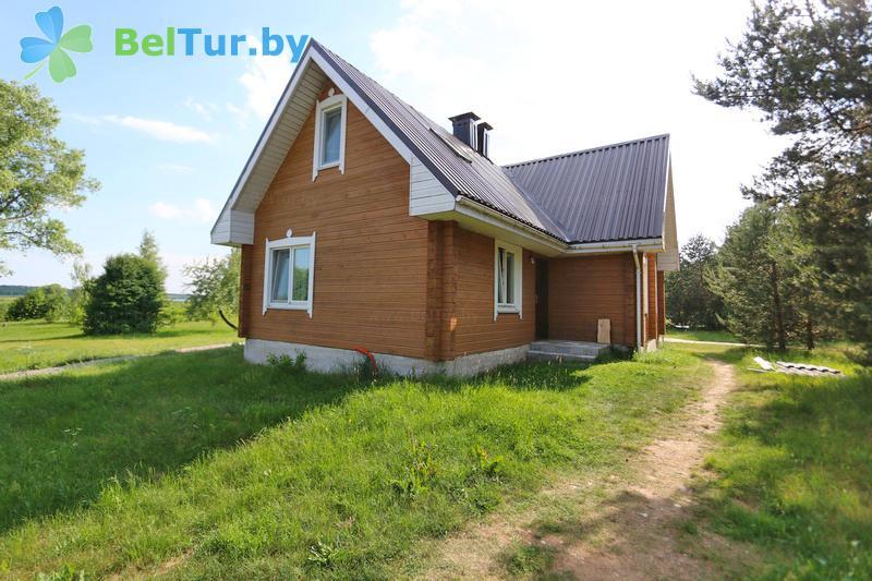 Отдых в Белоруссии Беларуси - экоотель Кветки Яблыни - дом «Суницы»