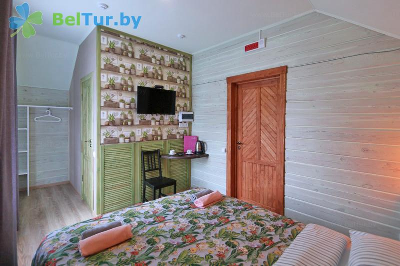 Rest in Belarus - ecohotel Kvetki Yablyni - one-room double standard (house «Shipshy»)