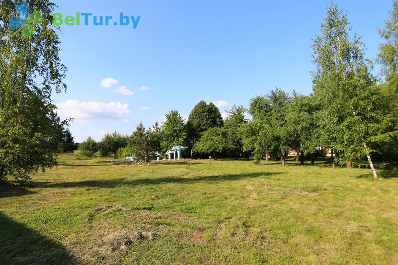Отдых в Белоруссии Беларуси - экоотель Кветки Яблыни - Площадка для палаток