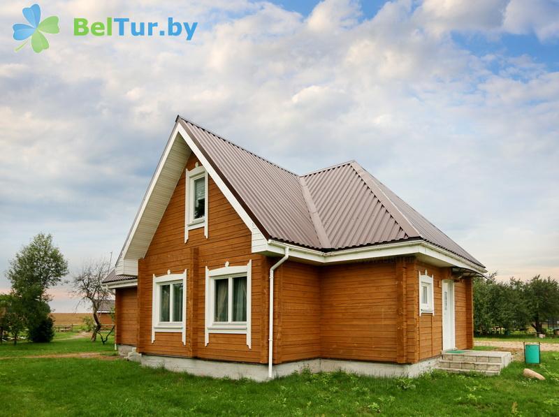 Отдых в Белоруссии Беларуси - экоотель Кветки Яблыни - дом «Малина»