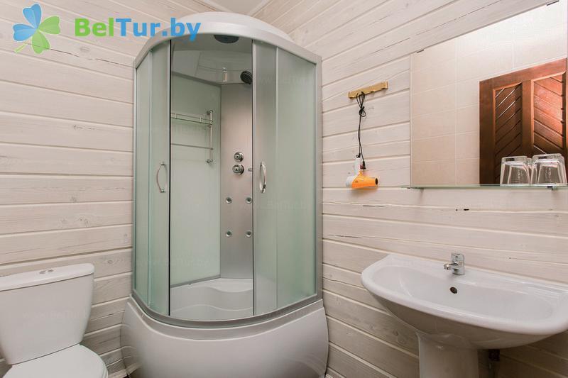 Отдых в Белоруссии Беларуси - экоотель Кветки Яблыни - двухместный однокомнатный полулюкс (дом «Ажыны»)