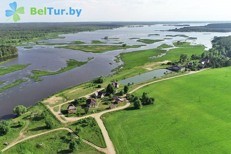 Отдых в Белоруссии Беларуси - экоотель Кветки Яблыни - Водоём