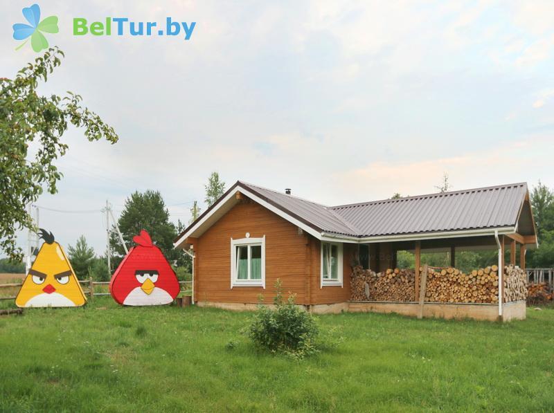 Отдых в Белоруссии Беларуси - экоотель Кветки Яблыни - баня