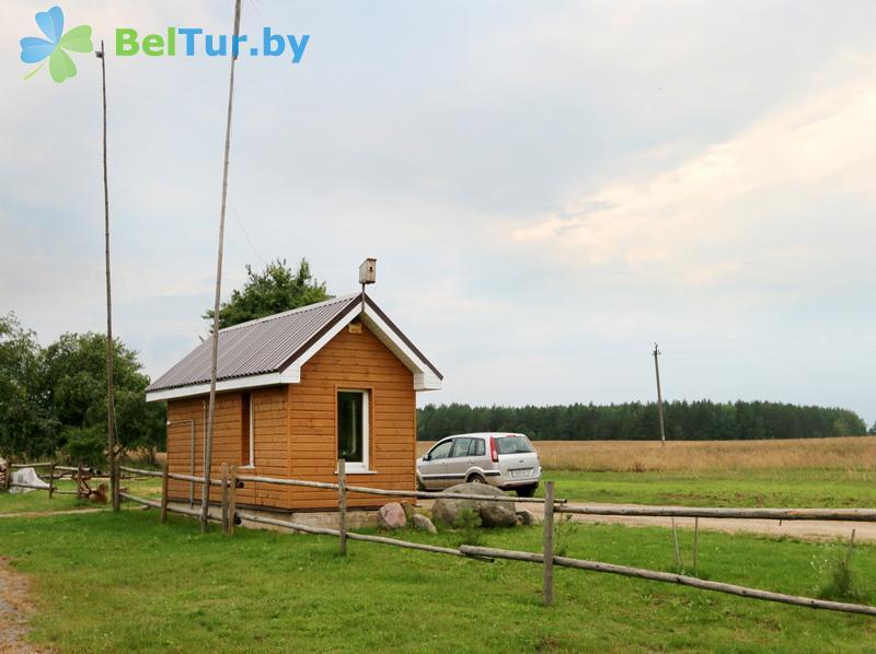 Отдых в Белоруссии Беларуси - экоотель Кветки Яблыни - Здания