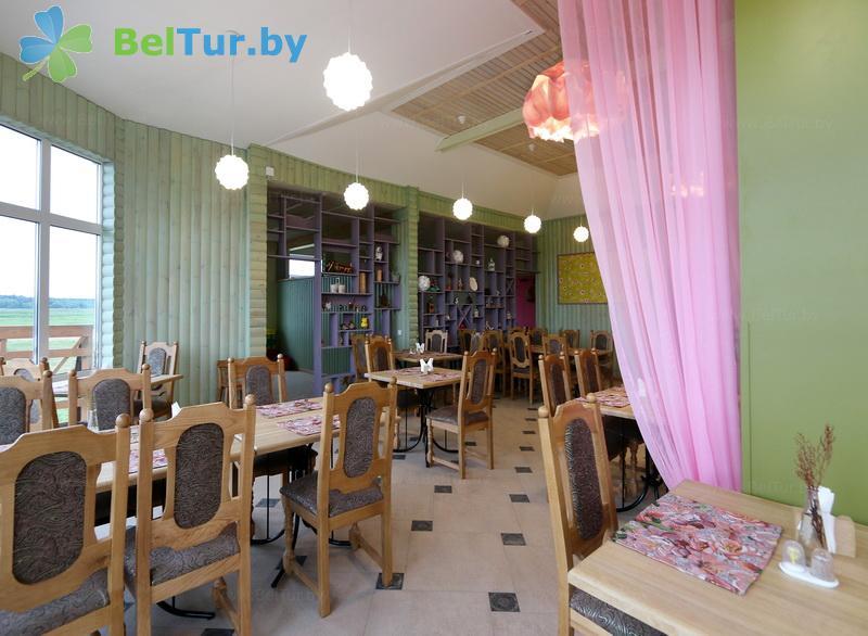 Отдых в Белоруссии Беларуси - экоотель Кветки Яблыни - Кафе
