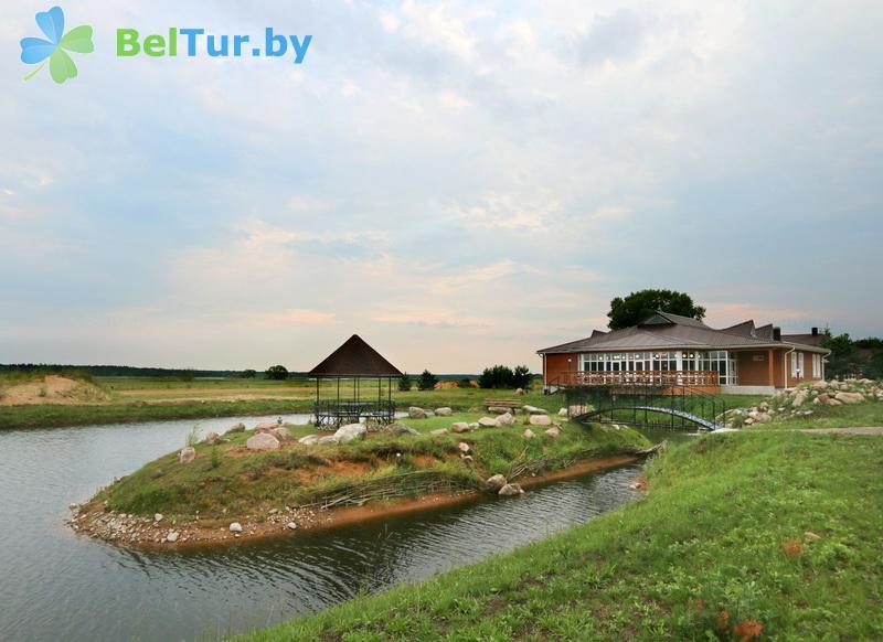 Отдых в Белоруссии Беларуси - экоотель Кветки Яблыни - Территория и природа