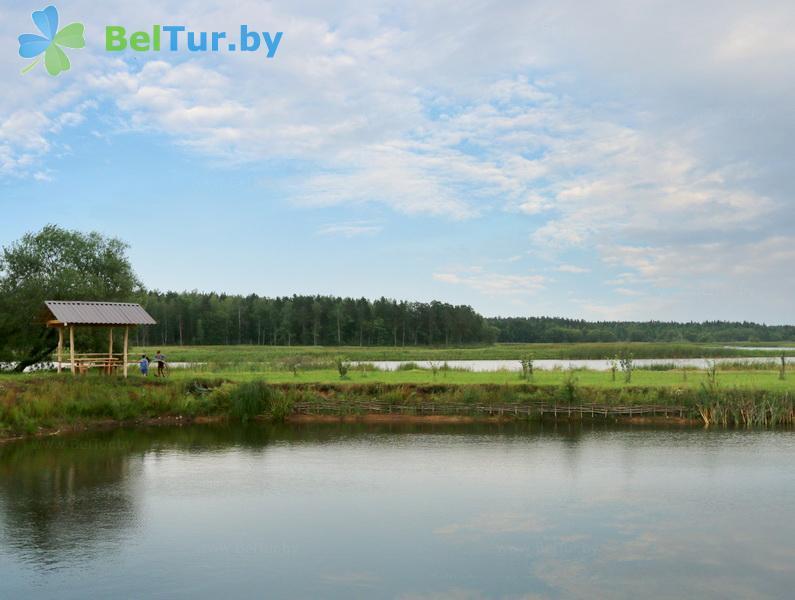 Rest in Belarus - ecohotel Kvetki Yablyni - Water reservoir