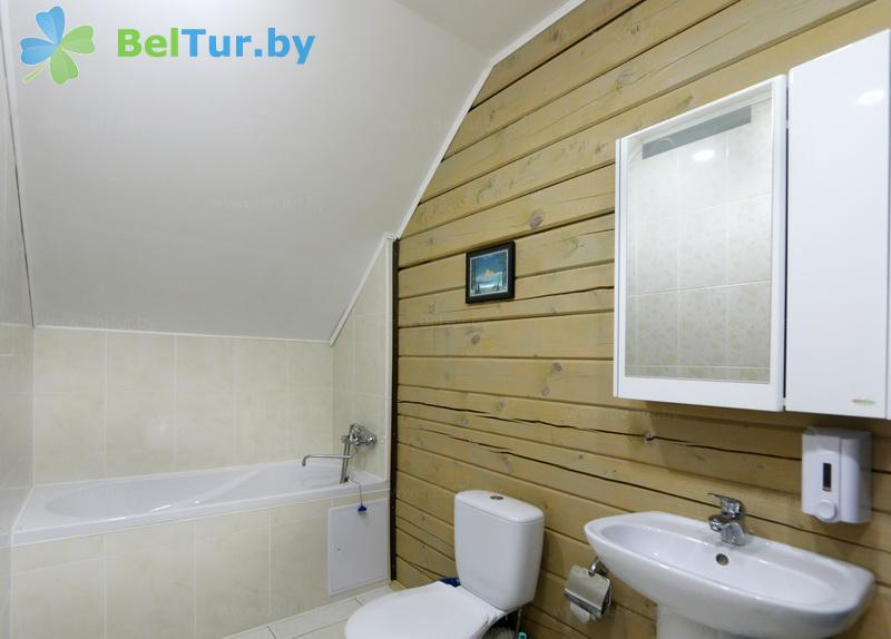 Rest in Belarus - ecohotel Kvetki Yablyni - two-room double suite (house «Rowan»)