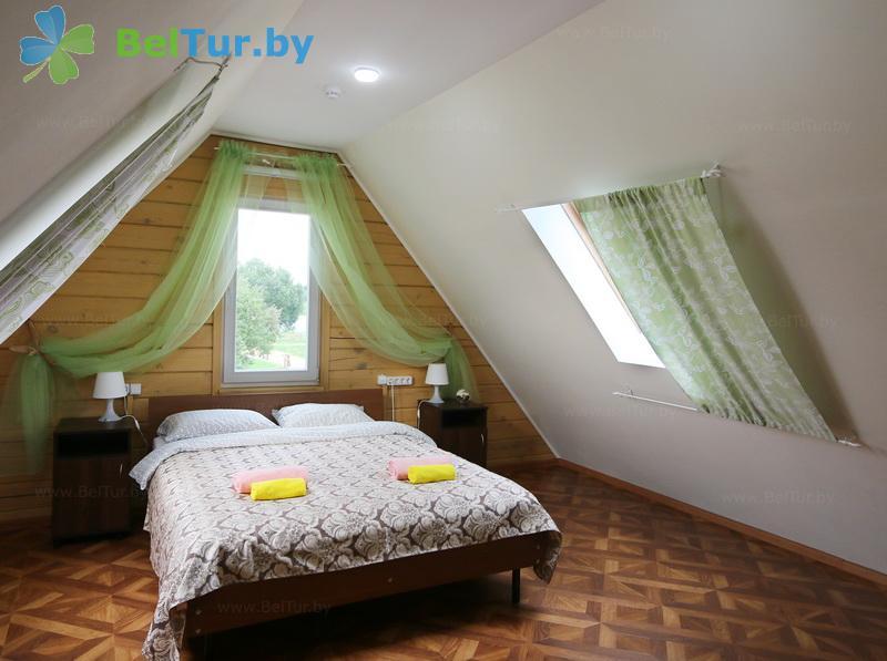 Отдых в Белоруссии Беларуси - экоотель Кветки Яблыни - двухместный однокомнатный полулюкс (дом «Малина»)