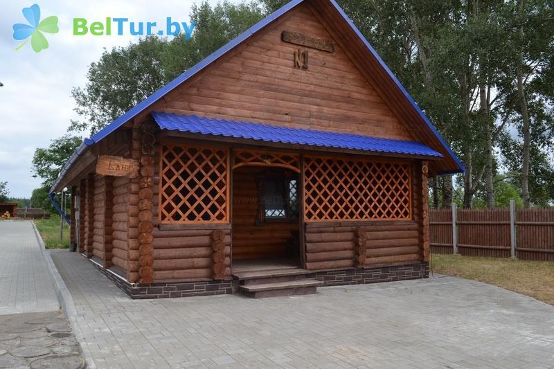 Отдых в Белоруссии Беларуси - охотничье-туристический комплекс Фольварк Бельчо - баня
