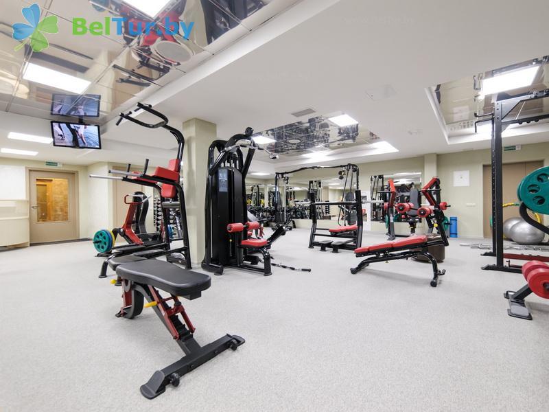 Отдых в Белоруссии Беларуси - гостиничный комплекс Робинсон клаб / Robinson Club - Тренажерный зал