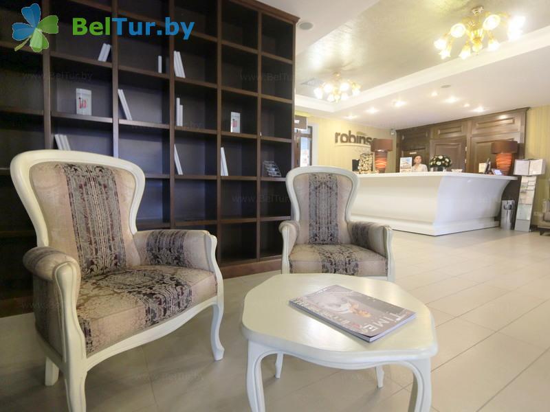 Отдых в Белоруссии Беларуси - гостиничный комплекс Робинсон клаб / Robinson Club - Регистратура