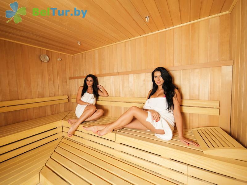 Отдых в Белоруссии Беларуси - гостиничный комплекс Робинсон клаб / Robinson Club - Сауна