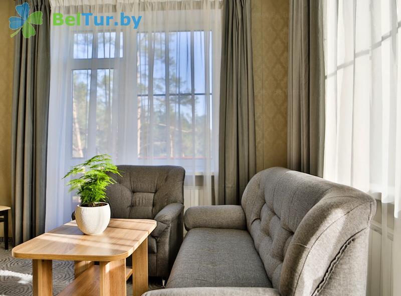 Отдых в Белоруссии Беларуси - учебно-оздоровительный комплекс Форум - двухместный двухкомнатный делюкс (гостиница)