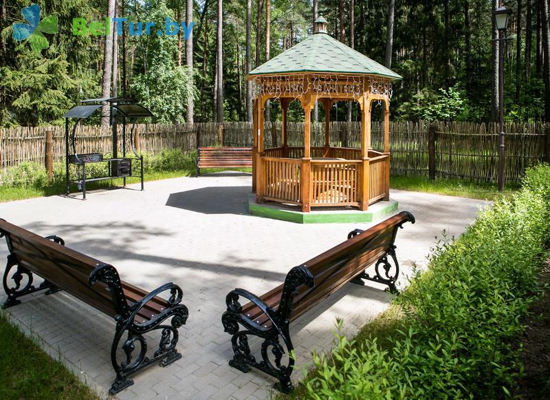 Отдых в Белоруссии Беларуси - учебно-оздоровительный комплекс Форум - Площадка для шашлыков
