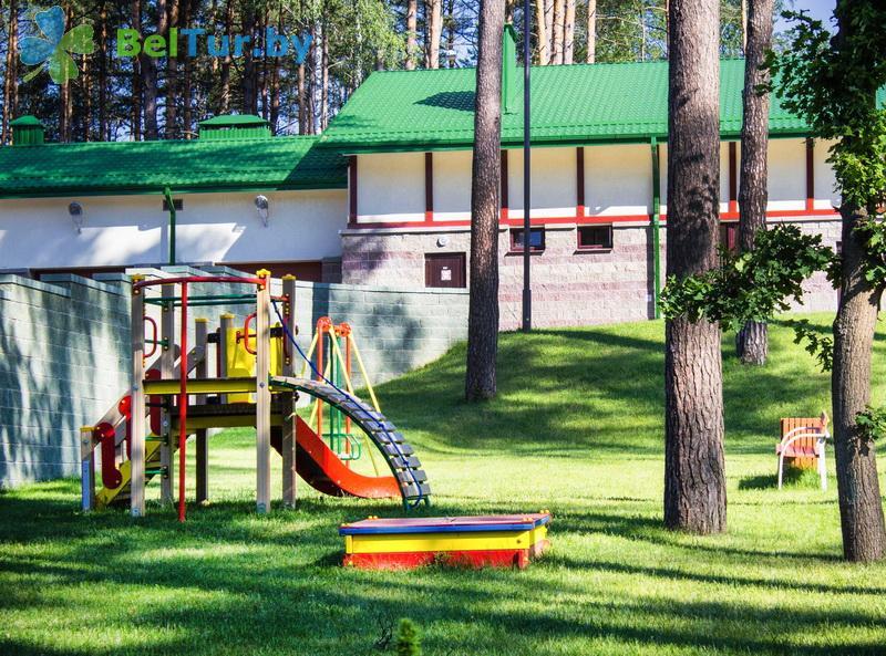 Отдых в Белоруссии Беларуси - учебно-оздоровительный комплекс Форум - Детская площадка