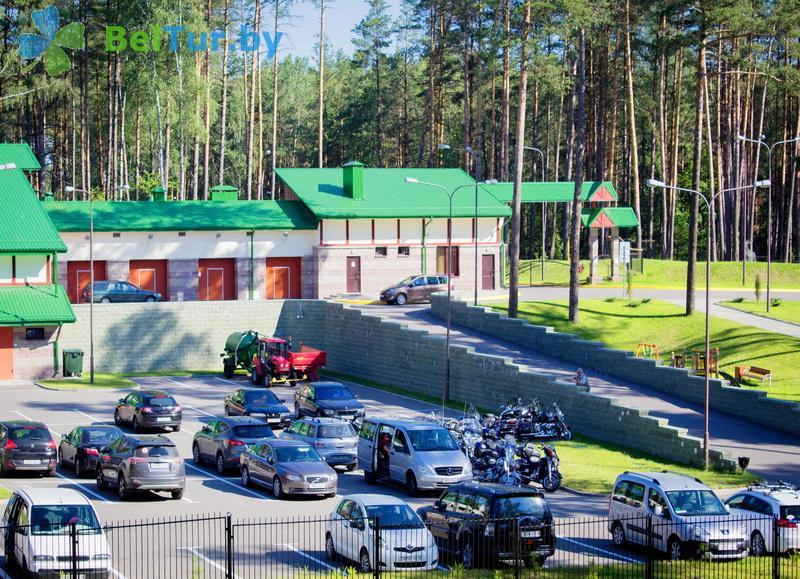 Отдых в Белоруссии Беларуси - учебно-оздоровительный комплекс Форум - Автостоянка