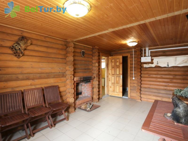 Отдых в Белоруссии Беларуси - охотничье-туристический комплекс Лавники - Баня русская