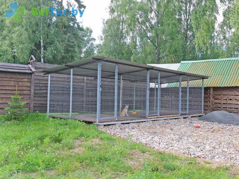 Отдых в Белоруссии Беларуси - охотничье-туристический комплекс Лавники - Вольер
