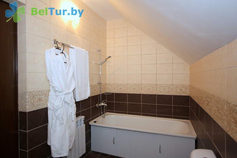 Отдых в Белоруссии Беларуси - гостиничный комплекс Веста - двухместный на двух уровнях (коттеджи)