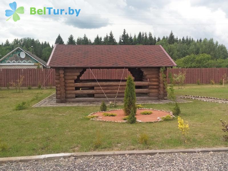 Отдых в Белоруссии Беларуси - дом охотника Межно - Площадка для шашлыков