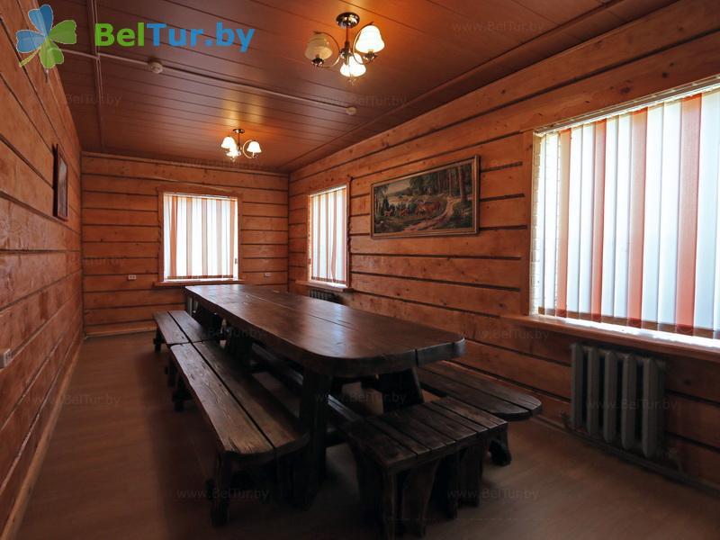 Отдых в Белоруссии Беларуси - дом охотника Межно - Банкетный зал
