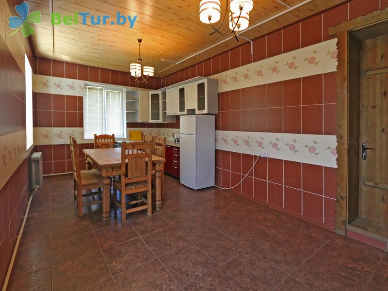 Отдых в Белоруссии Беларуси - дом охотника Межно - Кухня