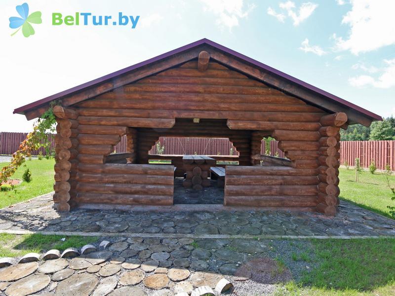 Отдых в Белоруссии Беларуси - дом охотника Межно - Беседка