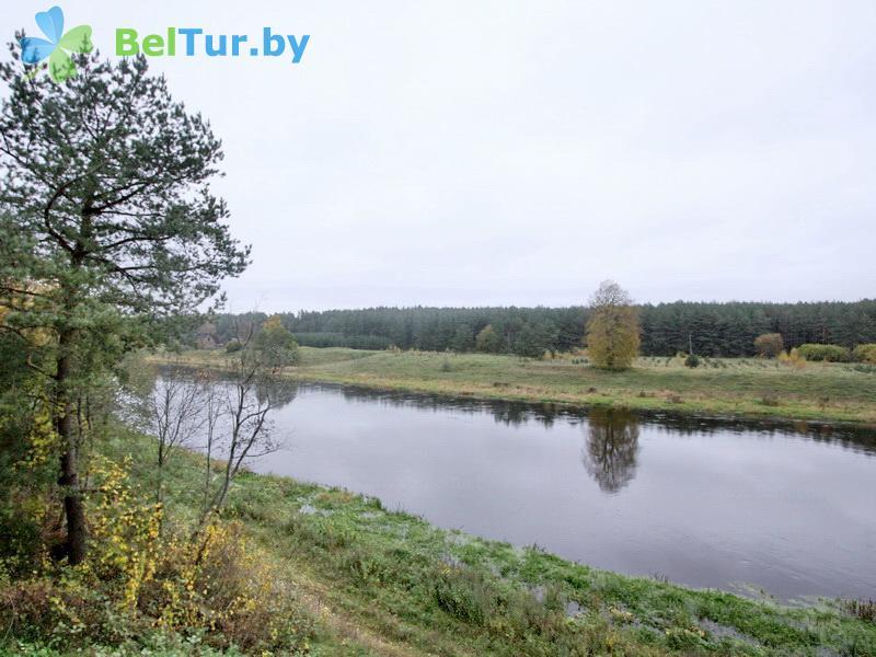 Отдых в Белоруссии Беларуси - дом охотника На Вилии - Водоём