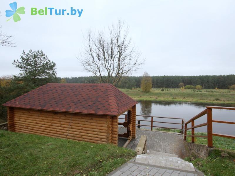 Отдых в Белоруссии Беларуси - дом охотника На Вилии - Беседка